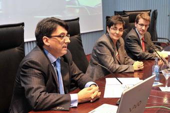 Os secretarios xudiciais analizan na egap a aplicaci n for Oficina virtual xunta galicia